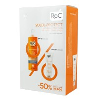 ROC SOLEIL-PROTECT FACE FLUID ANTI-WRINKLE SPF50 50ML+BODY SPRAY SPF30 200ML