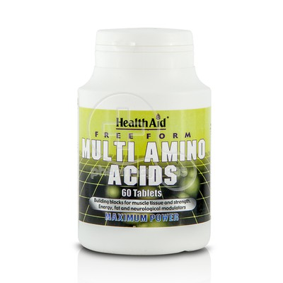 HEALTH AID - Multi Amino Acids - 60tabs