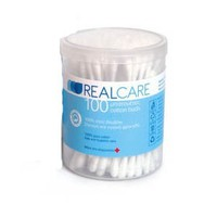 REALCARE COTTON BUDS 100TEM