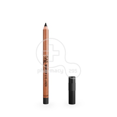 GOSH - WOODY EYELINER No001 Ebony Black - 1.1gr