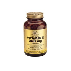 Solgar Vitamin E Natural 400IU 50softgels