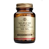 SOLGAR NIACIN 500MG NO FLUSH 50CAPS