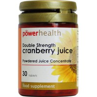 Power Health Cranberry Juice 4500 Mg, 30S