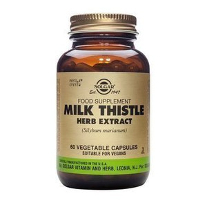 Solgar milk thistle herb   seed extract