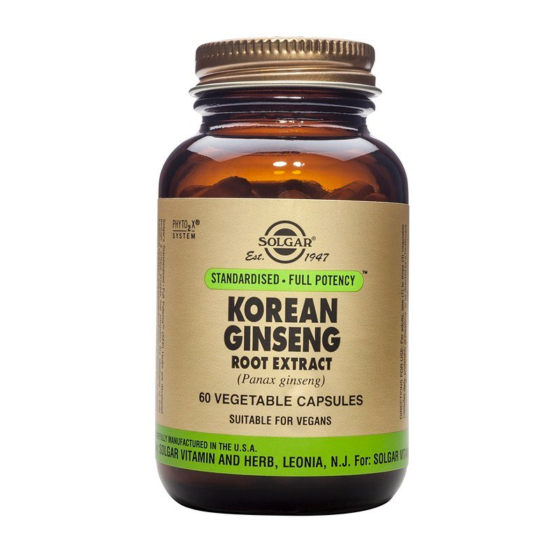 Korean Ginseng Root Extract veg.capsules