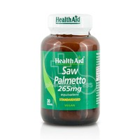 HEALTH AID - Saw Palmetto 265mg - 30tabs