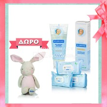 Klorane Pack Bebe Gel Doucher Moussant, 200ml & Baume Calendula Cream, 40ml & Σετ Μωρομάντηλα 3 x 70τμχ & ΔΩΡΟ Αρκουδάκη Klorane