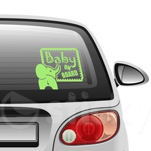 Baby on board 3 on car
