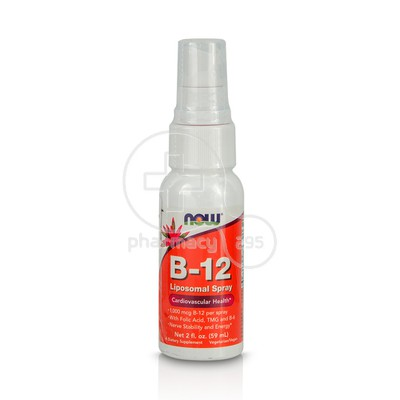 NOW - B-12 Liposomal Spray - 59ml