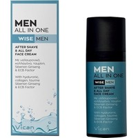 Vican Men All In One Wise Men,After Shave&All Day Face Cream50ml