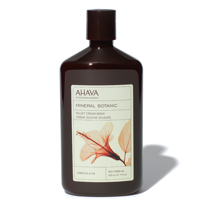 Ahava - Mineral Botanic Cream Wash – Hibiscus & Fig - 500ml