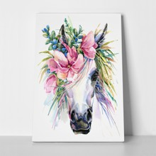 Watercolor unicorn illustration 665174980 a