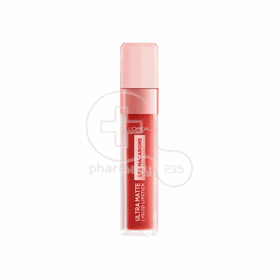 L'OREAL PARIS - LES MACARONS Ultra Matte Liquid Lipstick No834 (Infinite Spice) - 7,6ml
