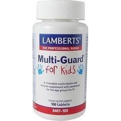 Lamberts Multi Guard For Kids 100 ταμπλέτες