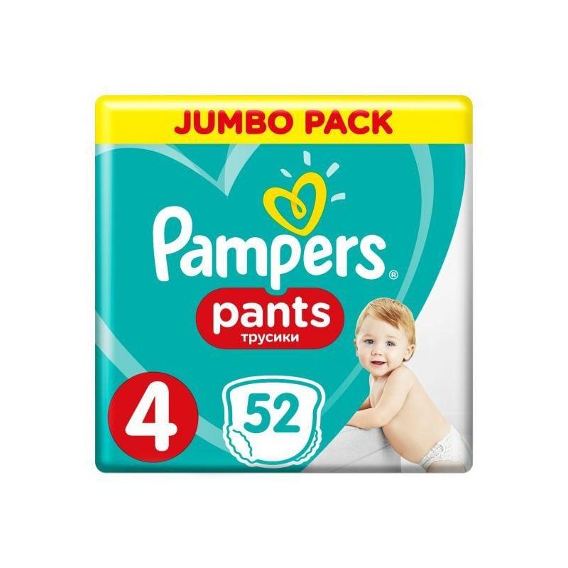 cade5d70f93 Pampers | Pampers Pants Νο4 (9 - 15Kg) 52τμχ Βρεφικές Πάνες