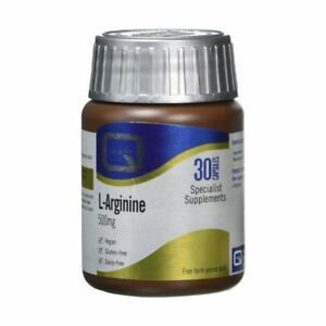 Quest vitamins l arginine 500mg 30caps