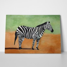 Original painting zebra 285087587 a