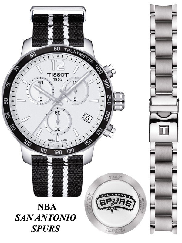 NBA San Antonio Spurs  Quickster Chrono