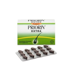 Priorin Extra - 60 capsule package