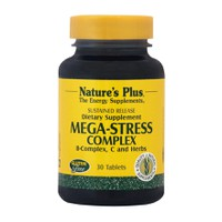 NATURES PLUS MEGA-STRESS COMPLEX 30TABL