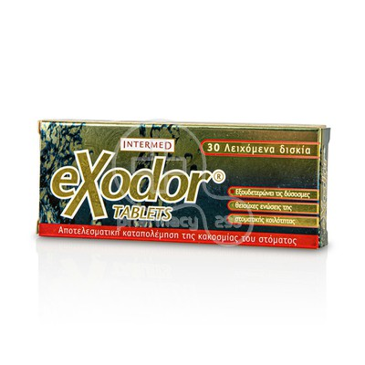 INTERMED - EXODOR TABLETS - 30 lozenges