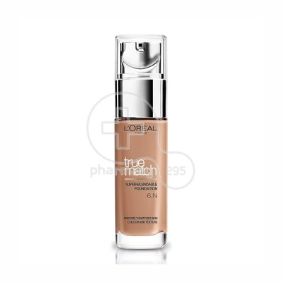 L'OREAL PARIS - TRUE MATCH Super Blendable Foundation No6Ν (Honey) - 30ml