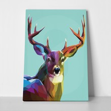 Colorful deer illustration 294331538 a