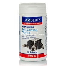 Lamberts Pet Nutrition Dog Calming Tablets - Ήρεμα κατοικίδια, 90 tabs