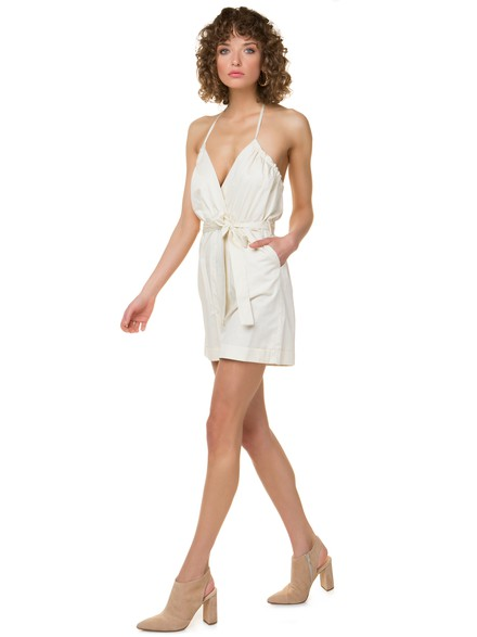 Poplin playsuit