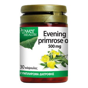 POWER HEALTH Evening primrose oil 500mg 30κάψουλες