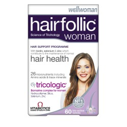 Vitabiotics Wellwoman Hairfollic (Tricologic) Woman 60tabs