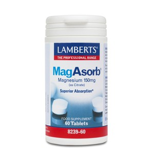 LAMBERTS Magasorb 150mg 60ταμπλέτες
