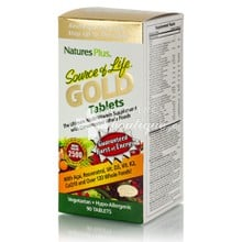 Natures Plus SOURCE OF LIFE GOLD - Ενέργεια, 90 tabs