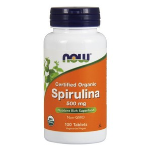 Now foods spiroulina