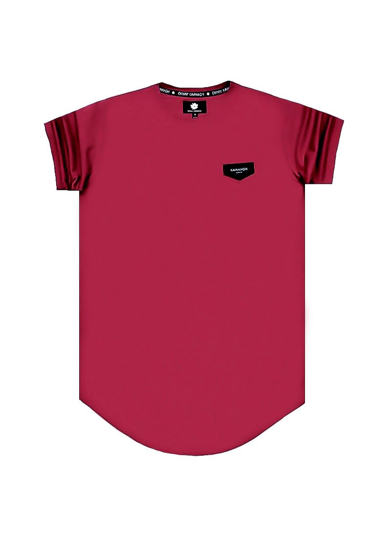 Gianni Kavanagh Burgundy Tee Gold Collection