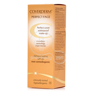 COVERDERM - PERFECT FACE SPF20 Νο3Α - 30ml