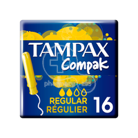 TAMPAX - Compak Regular - 16τεμ.