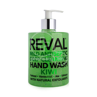INTERMED - REVAL Mild Antiseptic Deep Cleansing Hand Wash (Kiwi) - 500ml