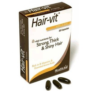 Health aid hair vit 30s