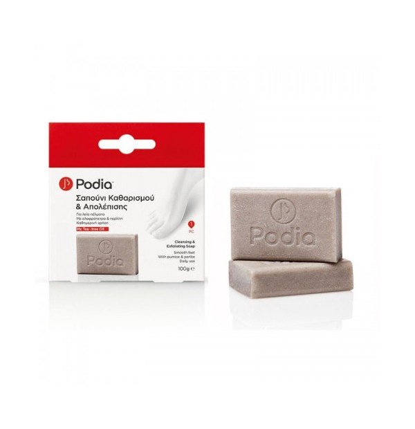 PODIA Cleansing &Exfoliating Soap 100gr