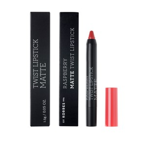 KORRES Lipstick twist raspberry matte imposing red 1,5gr