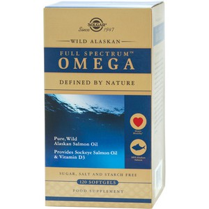 SOLGAR Wild alaskan full spectrum omega 120softgel