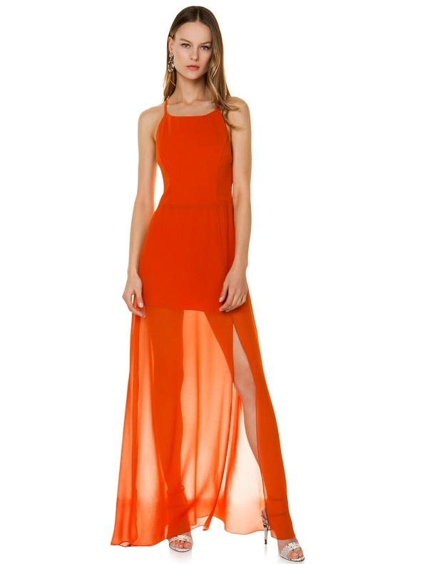 b8ae21da9294 Φόρεμα από μουσελίνα με διαφάνεια - Toi moi