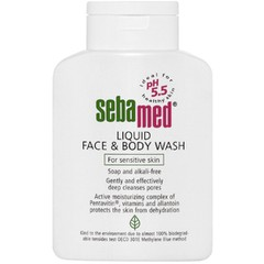 Sebamed Liquid Face & Body Wash 1000ml