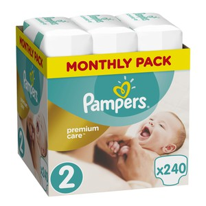Pampers size 2 premium protection 240s 08001090379474 81629462