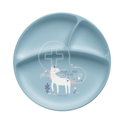 STEPHEN JOSEPH - SAFE AND SOUND Silicon Plate 0m+ (Unicorn)