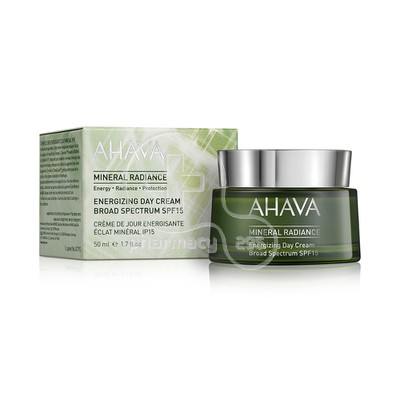 AHAVA - MINERAL RADIANCE Energizing Day Cream SPF15 - 50ml
