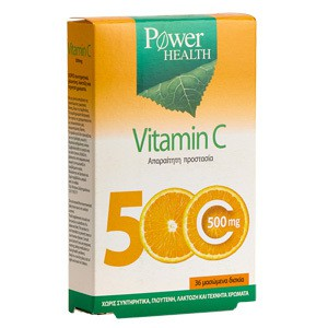 Power health vitamic c 500