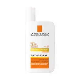 La Roche Posay Anthelios XL Ultra-Light Tinted Fluide SPF 50+, 50ml, Λεπτόρρευστη Αντηλιακή Κρέμα Προσώπου με Χρώμα