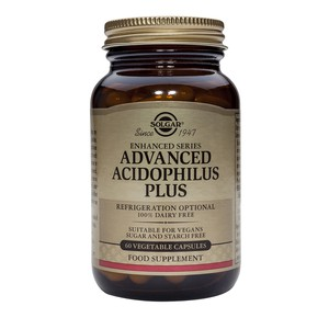 SOLGAR Advanced acidophilus plus 60vegetable capsu